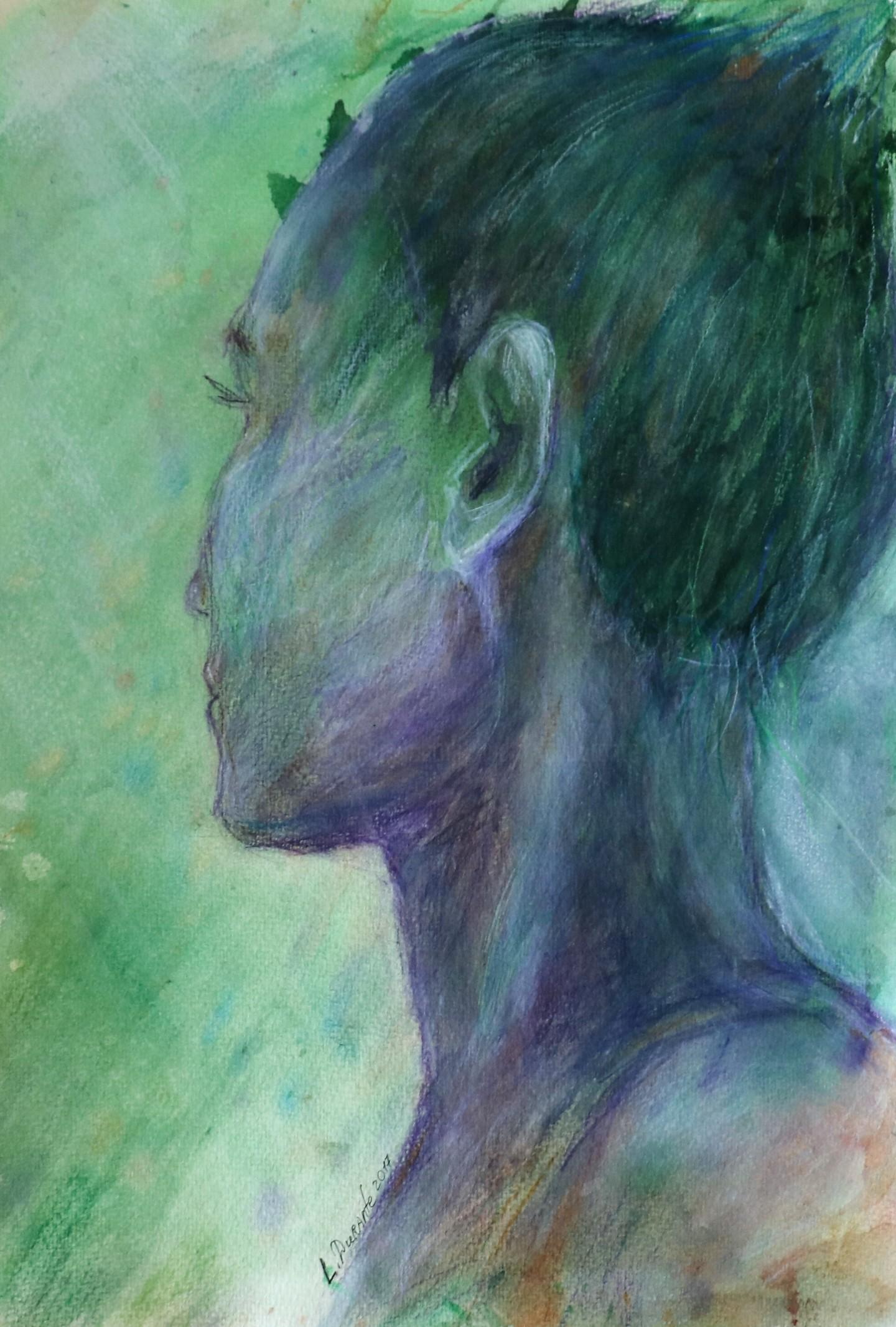 Liudmyla Durante - Self portrait