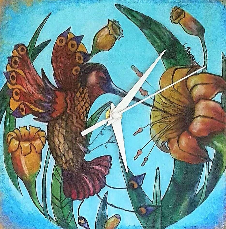 Liudmyla Durante - Golden Hummingbird