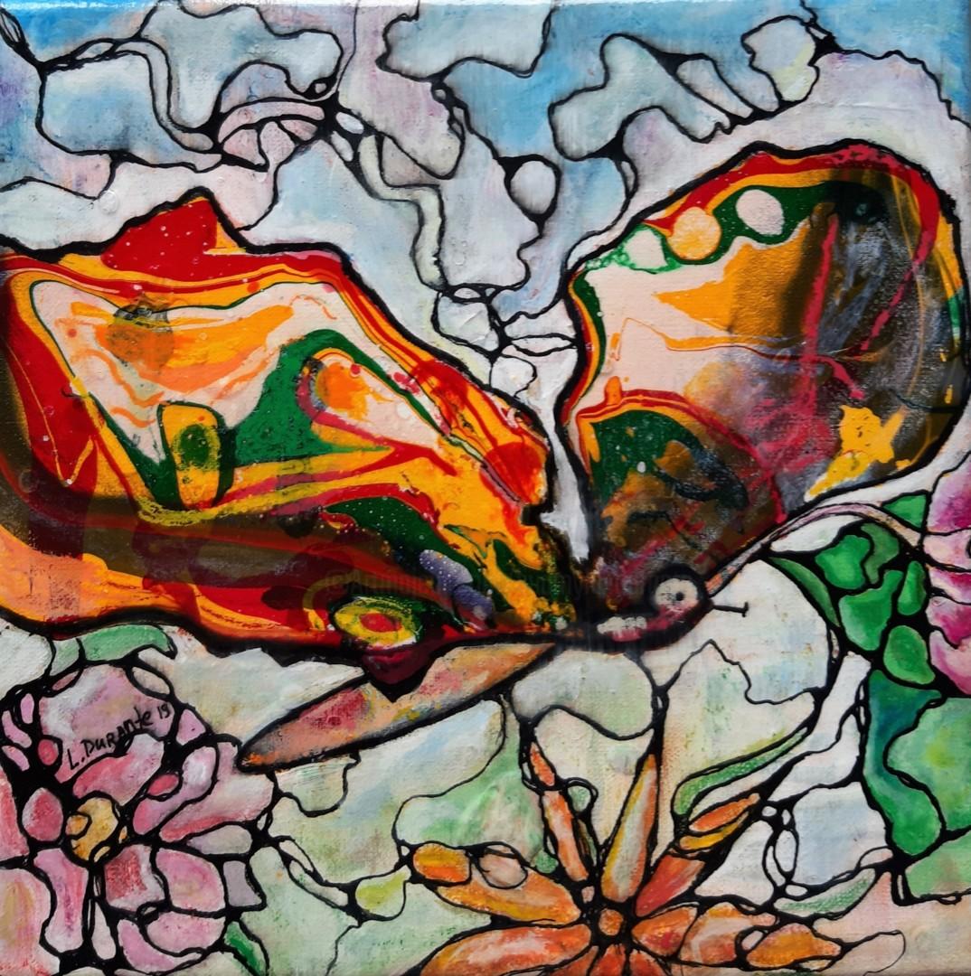 Liudmyla Durante - Butterfly in the garden