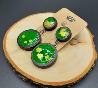Earrings Green Planet